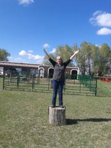 Me at barnyard